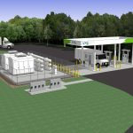 ANG Building CNG Station in Saratoga Springs NY
