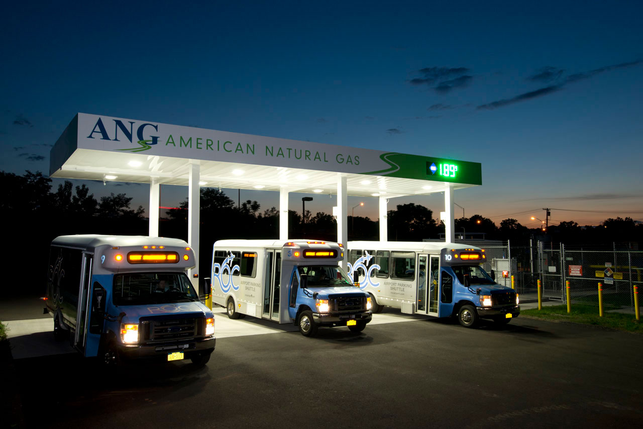 Public Compressed Natural Gas Station Opens on Rochester ...